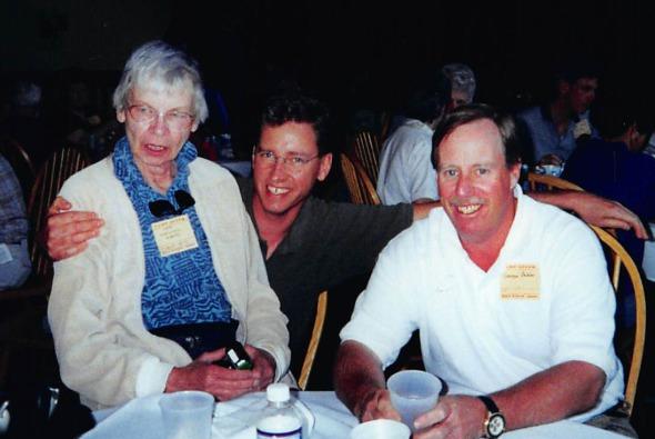 Jane Wardwell Roberts? and George Baker