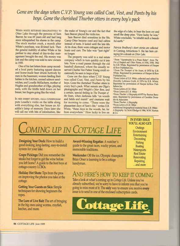Cottage Life Otter Article Page 11