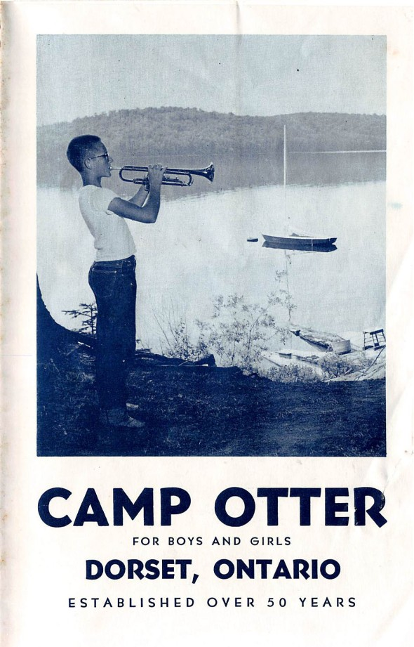 Dave Duchscherer on the Cover of the Camp Brochure