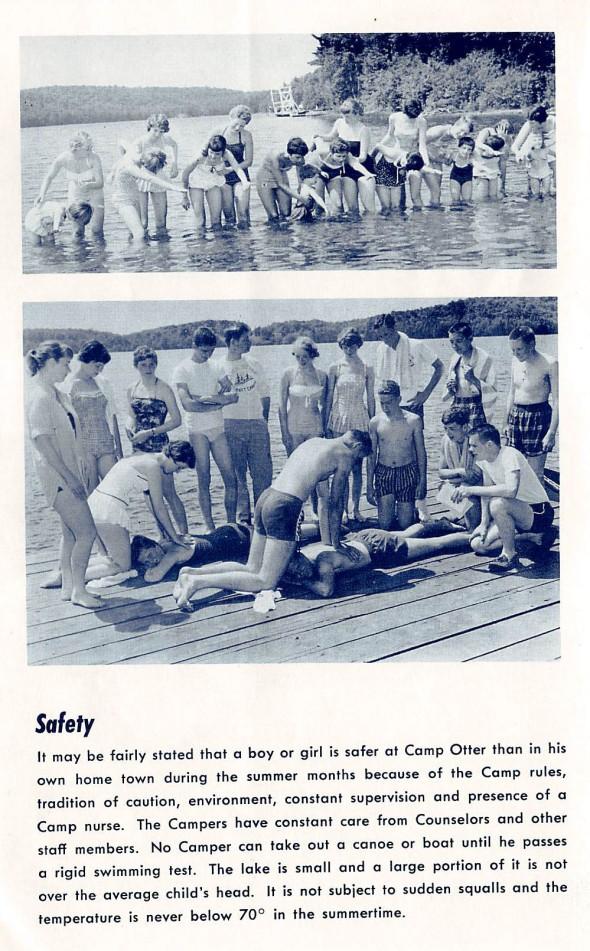 Otter Brochure Swim Safety