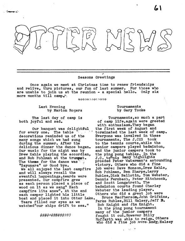 Otter News 1961_Page_1