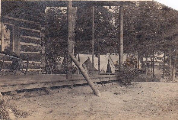 Camp Otter main lodge 1916