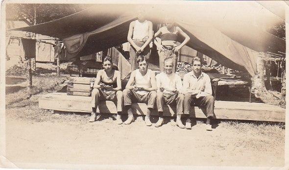 Image 28 Tents preceded cabins.
