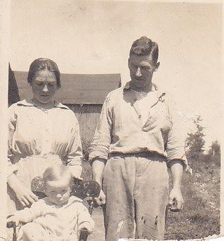 Jessie, Bill, Bruce Crewson 1918