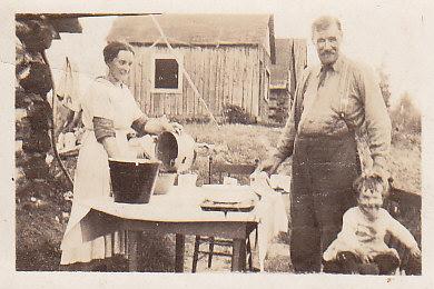 Jessie Crewson, Capt Jones, Bruce 1919