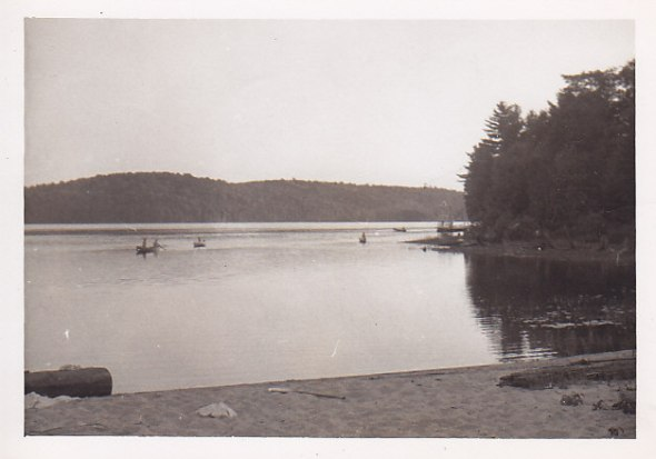 Otter Lake from Sandy Beach