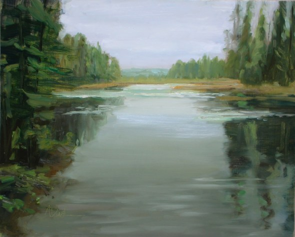 "...and Alice's ""Bay - Algonquin Park"""