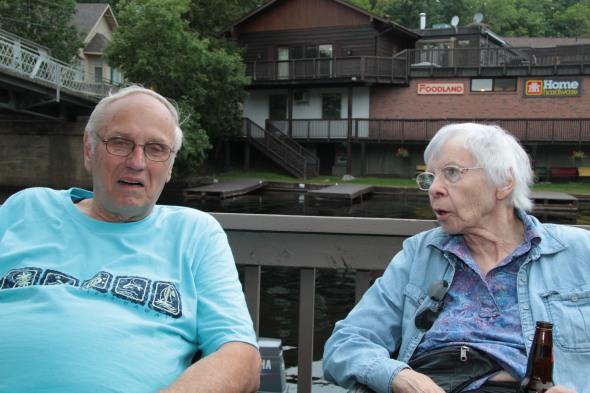 Jim Boguslawski and Jane Wardwell Roberts
