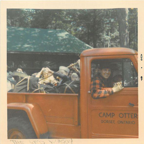 67 106 John Berner and Jeep