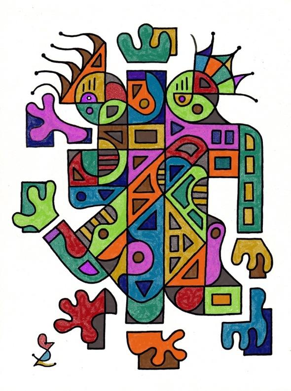 Design by Otter alum Stuart Zimmerman, sent in tribute to Jane.