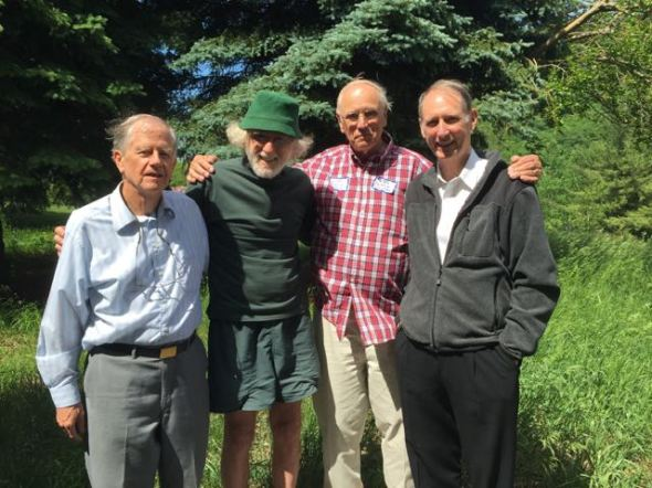 Larry Rublee, Park Huber, Jim Boguslawski, Peter Dustin 6-6-15