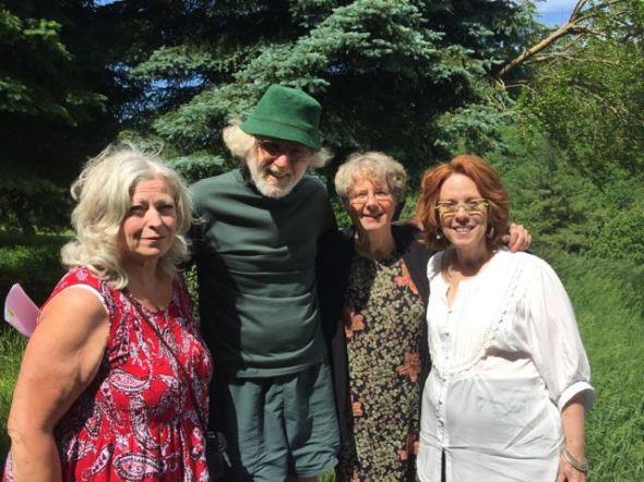 Laurie Hoffarth Milligan, Park Huber, Lynn Rublee, Marion Rogers 6-6-15