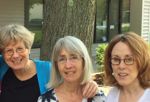 Joining Libby Rogers Hirsch (not in picture) were L-R Lynn Rublee, Cathy Fernbach and Marion Rogers