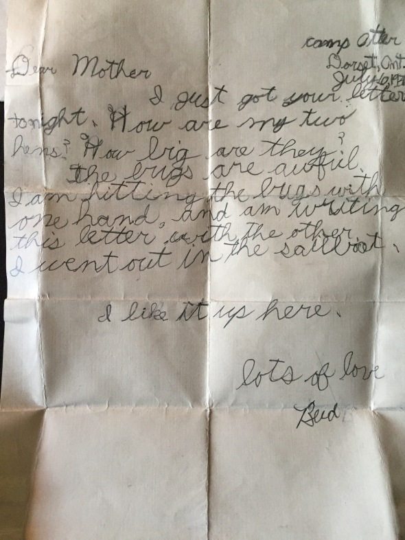 Otter Bizzell Letter 5